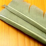Natures Spirit NATURES SPIRIT TURKEY BIOT QUILL PIECES - 2 select pieces Gray Olive
