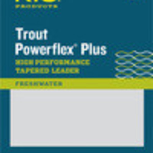 RIO RIO POWERFLEX PLUS 7.5FT 1X LEADER SINGLE
