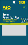 RIO RIO POWERFLEX PLUS 7.5FT 1X LEADER SINGLE