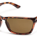 SunCloud CUTOUT BURNISHED BROWN POLARIZED BROWN