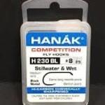 Hanak HANAK Hooks Stillwater and Wet, Model 230, Sz 8, 25 pk