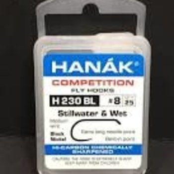 Hanak HANAK Hooks Stillwater and Wet, Model 230, Sz 8, 25 pk