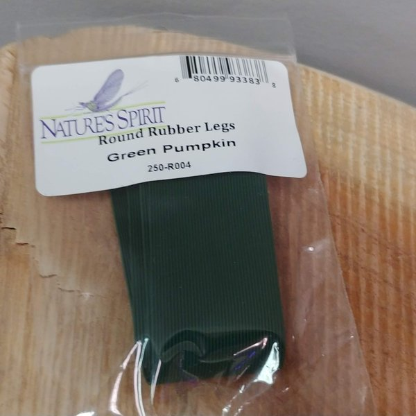 Natures Spirit NATURES SPIRIT ROUND RUBBER LEGS GREEN PUMPKIN