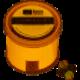 Loon Outdoors Loon Camo Drop - Twist Pot - Size 6