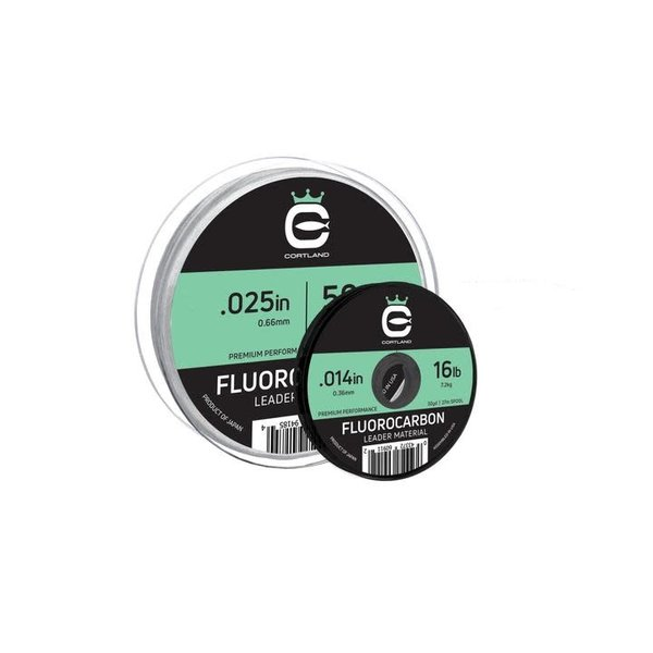Cortland Fluorocarbon Leader Material 8lb  .009in