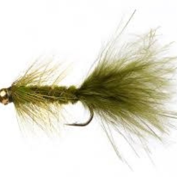 Fullingmill C/H WOOLLY BUGGER OLIVE SZ 8