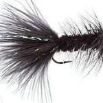 Fullingmill Conehead  WOOLLY BUGGER BLACK SZ 8