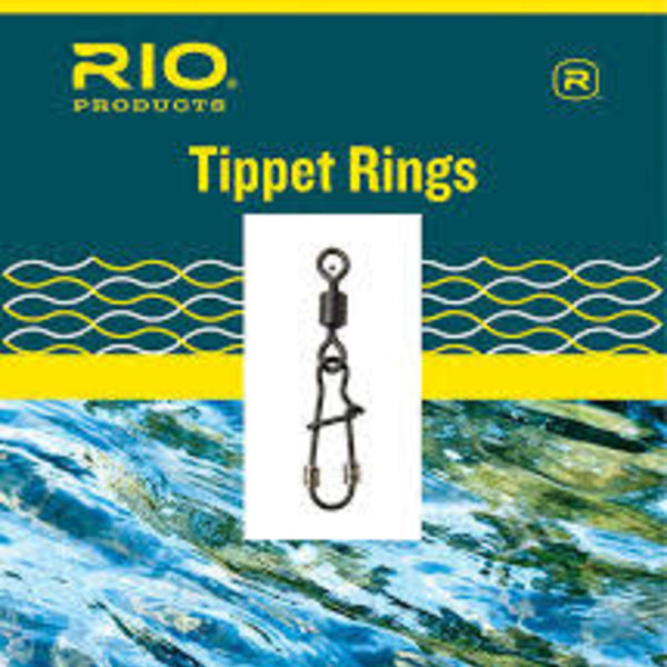 RIO RIO  Tippet Ring 3mm 10-Pack Size