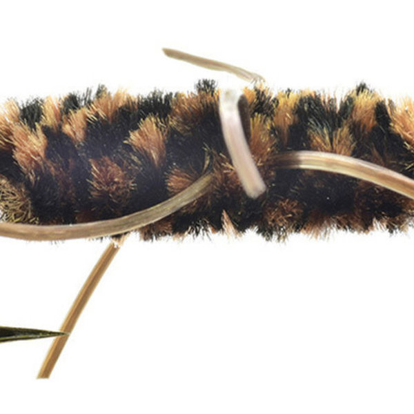 UMPQUA Rubber Legs Black Body and Brown SZ 10