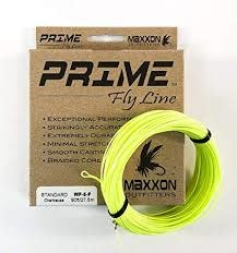 MAXXON Outfitters Prime  Weight Forward Floating Fly Line 4 WT Chartreuse