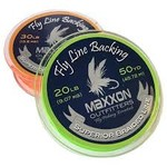 MAXXON Outfitters Maxxon Fly Line Backing - 30 LB 100 Yards Lime Orange