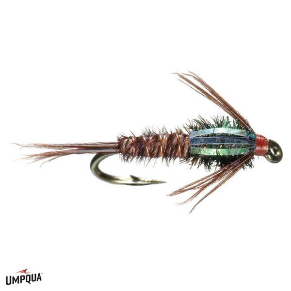 UMPQUA FLASHBACK  PHEASANT  Tail sz 14