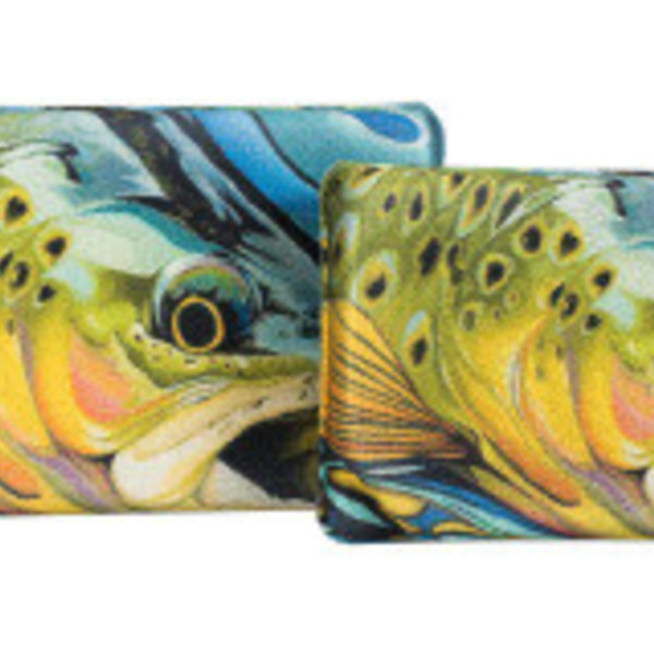 South Fork/New Phase Trout pattern Lycra EVA box Standard Size