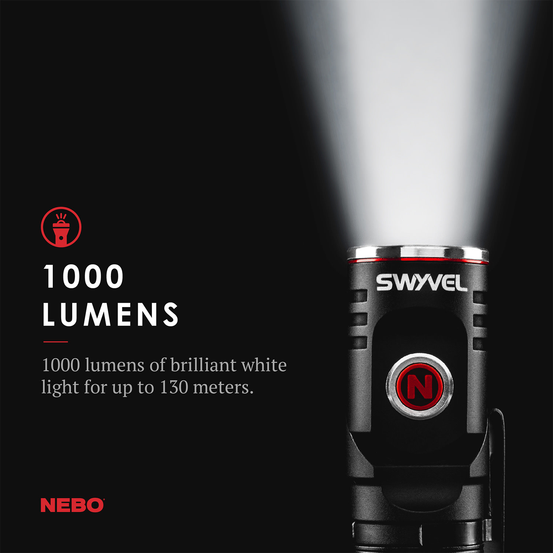 NEBO NEBO SWIVEL RECHARGEABLE LIGHT
