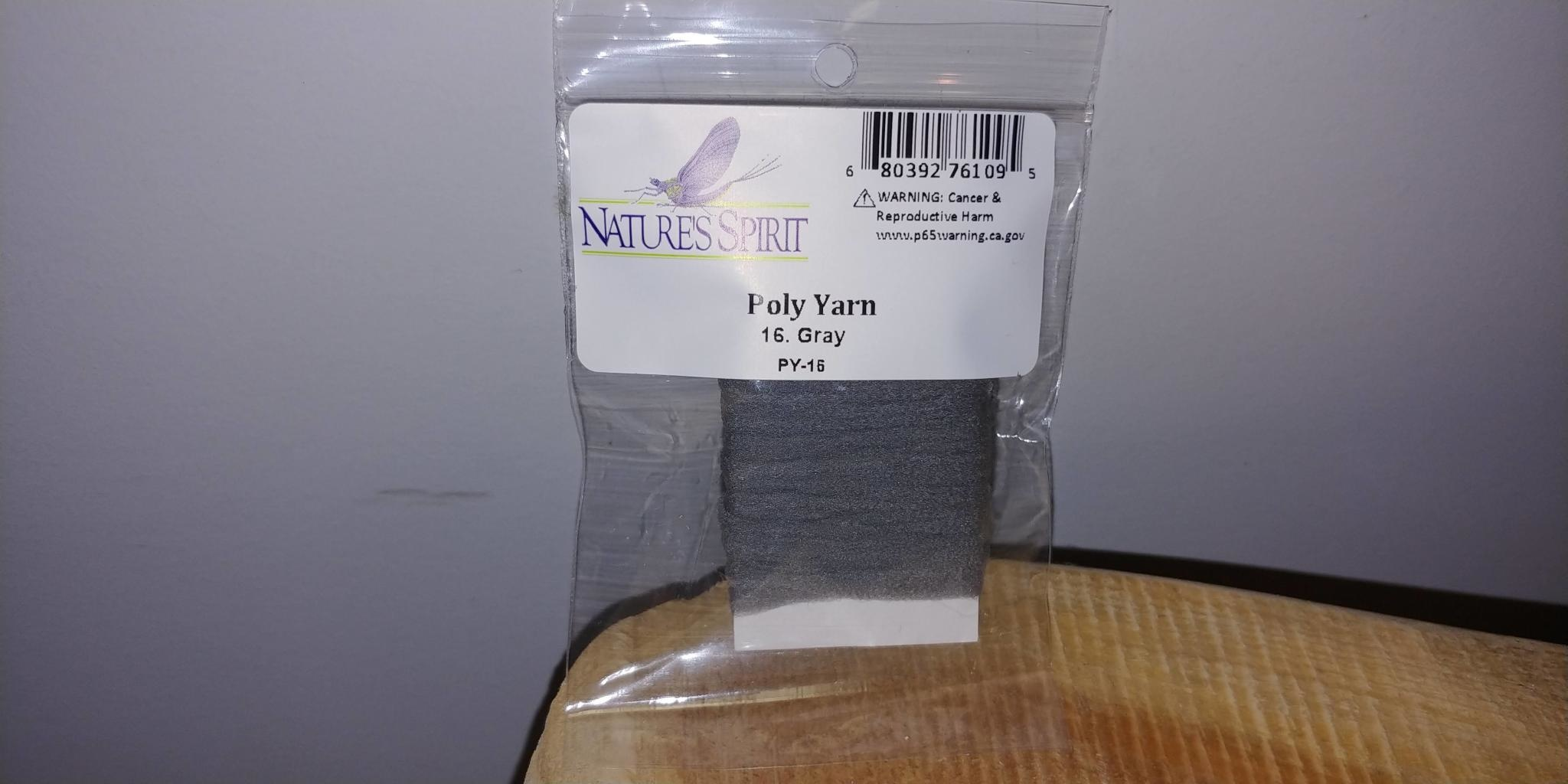 Natures Spirit NATURES SPIRIT -  POLY YARN 5 YRDS - GRAY