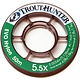 TROUTHUNTER TROUTHUNTER EVO NYLON -  5X  TIPPET