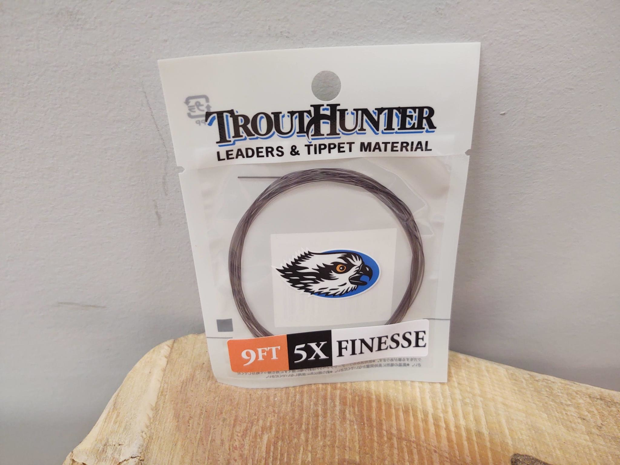 TROUTHUNTER TROUTHUNTER FINESSE  - 9'  5X LEADER