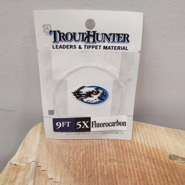 TROUTHUNTER TROUTHUNTER FLUOROCARBON -  9'  5X  LEADER