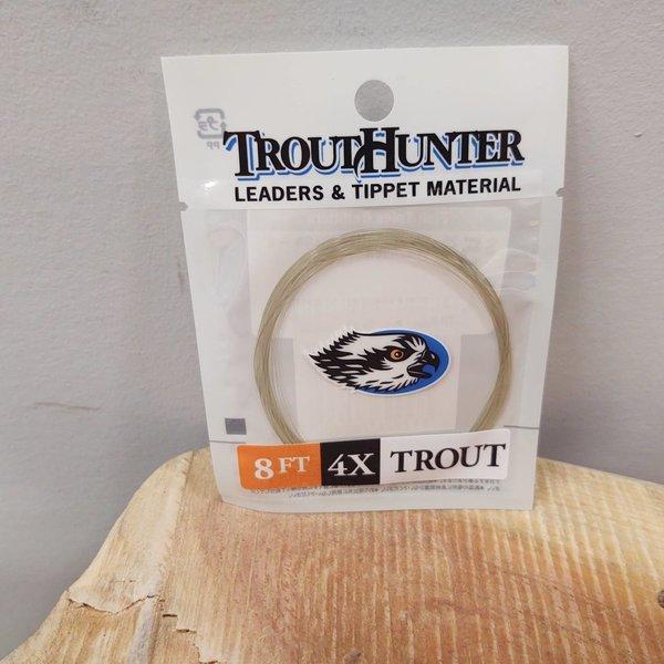 TROUTHUNTER TROUTHUNTER NYLON - 8' 4X 'LEADER