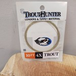 TROUTHUNTER TROUTHUNTER NYLON - 10' 4X LEADER