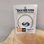 TROUTHUNTER TROUTHUNTER NYLON - 10'  6X LEADER