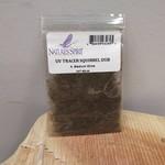 Natures Spirit UV TRACER SQUIRREL DUBBING - Medium Olive