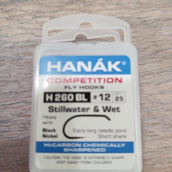 Hanak Hanak Hooks, Model 260, Sz 12, 25 pk