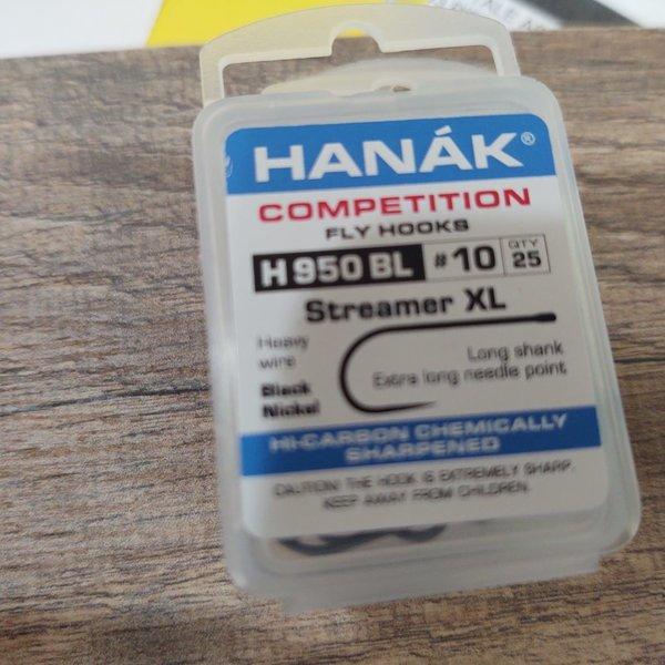 Hanak Hanak Hooks, Model 950, Sz 10, 25 pk