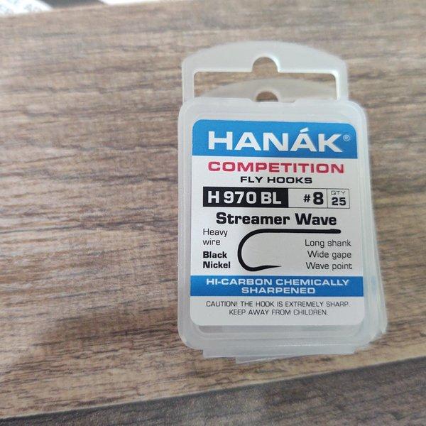 Hanak Hanak Hooks, Model 970, Sz 8, 25 pk