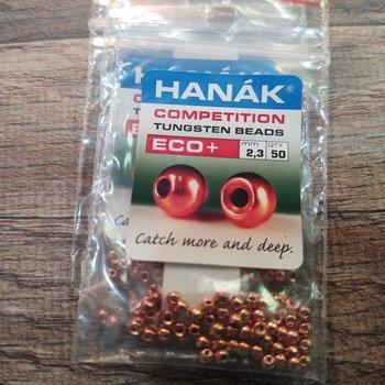 Hanak Tungsten Beads, Eco+ Copper, 2.8 mm, 50 pcs