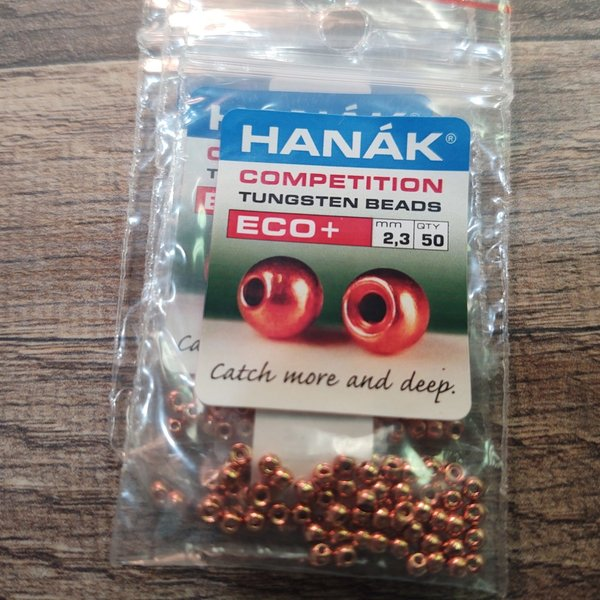 Hanak Hanak Tungsten Beads, Eco+ Copper, 2.8 mm, 50 pcs