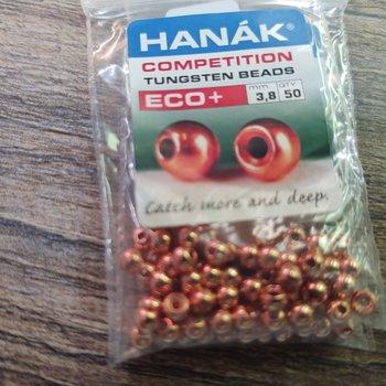 Hanak Hanak Tungsten Beads, Eco+ Copper, 3.8 mm, 50 pcs
