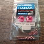 Hanak Hanak Tungsten Beads, Metallic+ Light Pink, 2.0 mm, 20 pcs