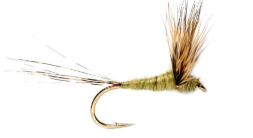 Fulling Mill Compara Dun Olive - Size 16