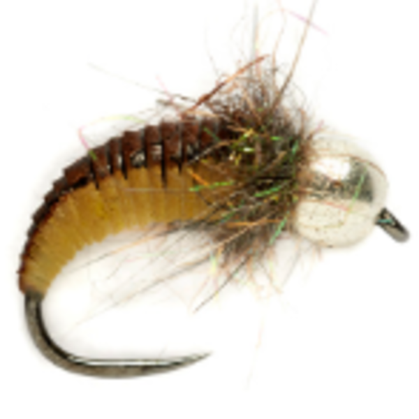 Fulling Mill Rubber Grub Nymph Olive Size 12