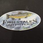 FISH TALES STICKER - MEDIUM