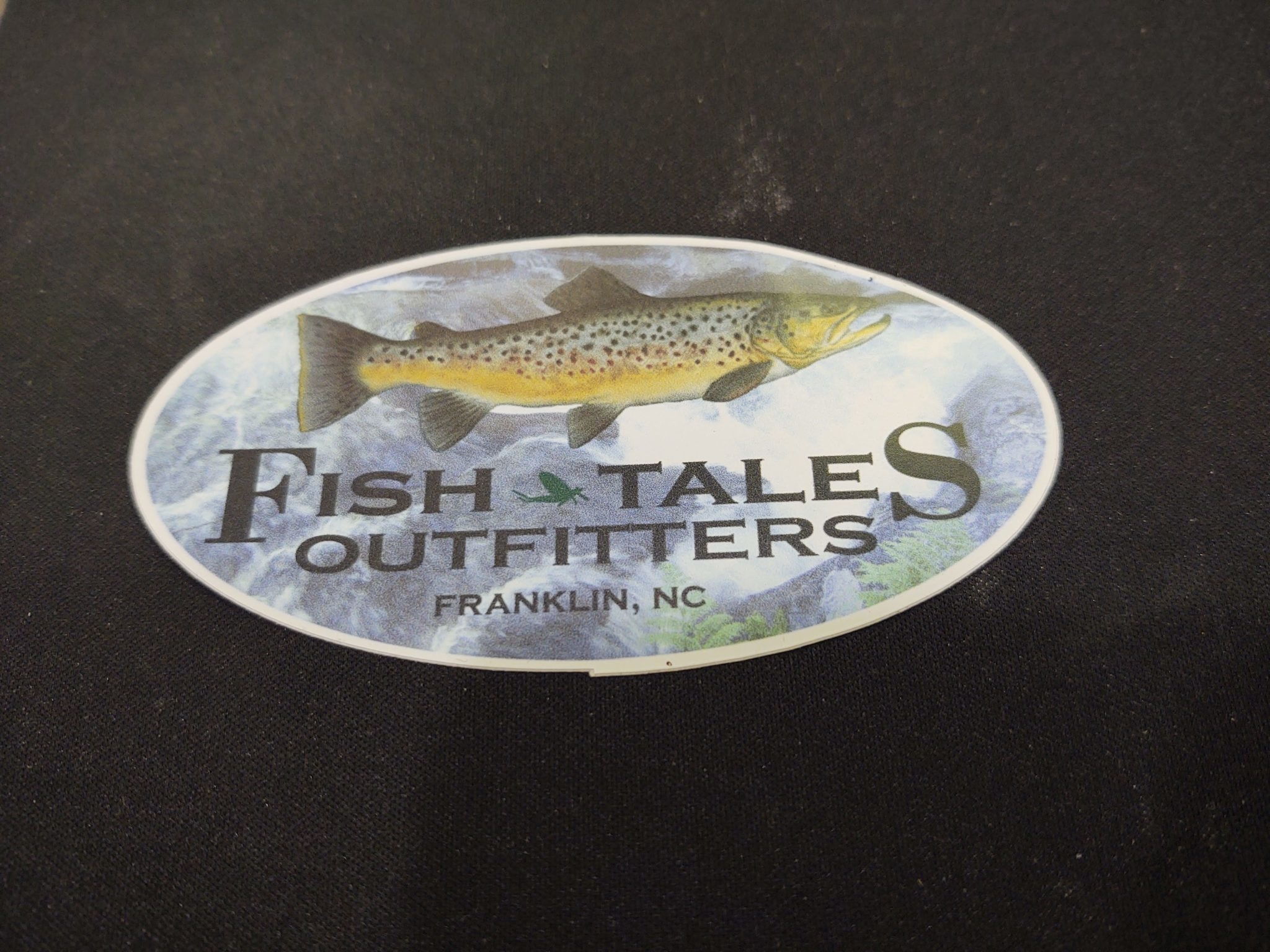 FISH TALES STICKER - MEDIUM