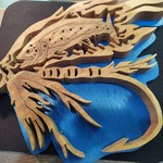 Kennys Fishing with  Fly Wooden Sign