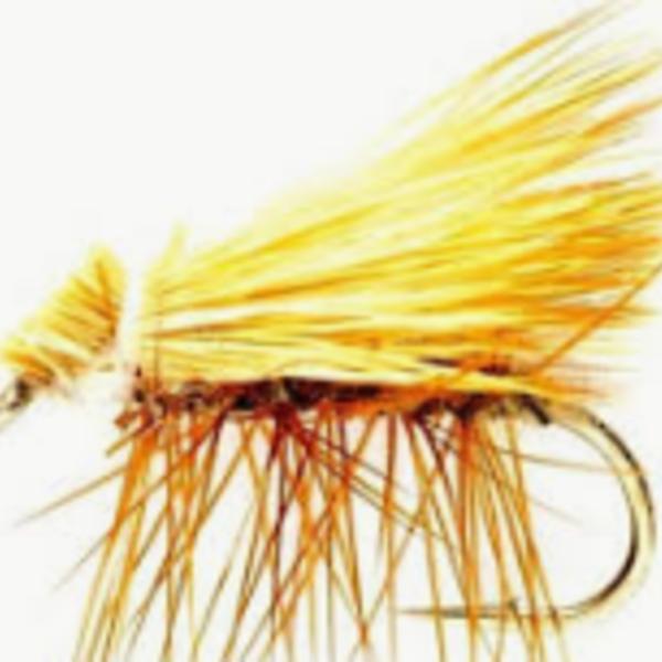 Fulling Mill Elkwing Caddis Tan  Size 12