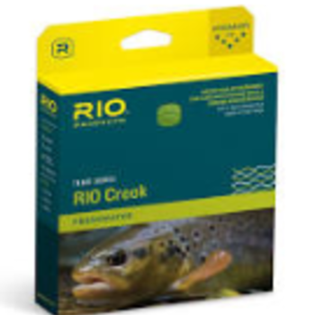 RIO RIO CREEK TROUT SERIES FLY LINE WF3F GREEN/YELLOW