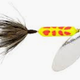 Wordens Wordens 206-CLCD Rooster Tail Yellow body /red