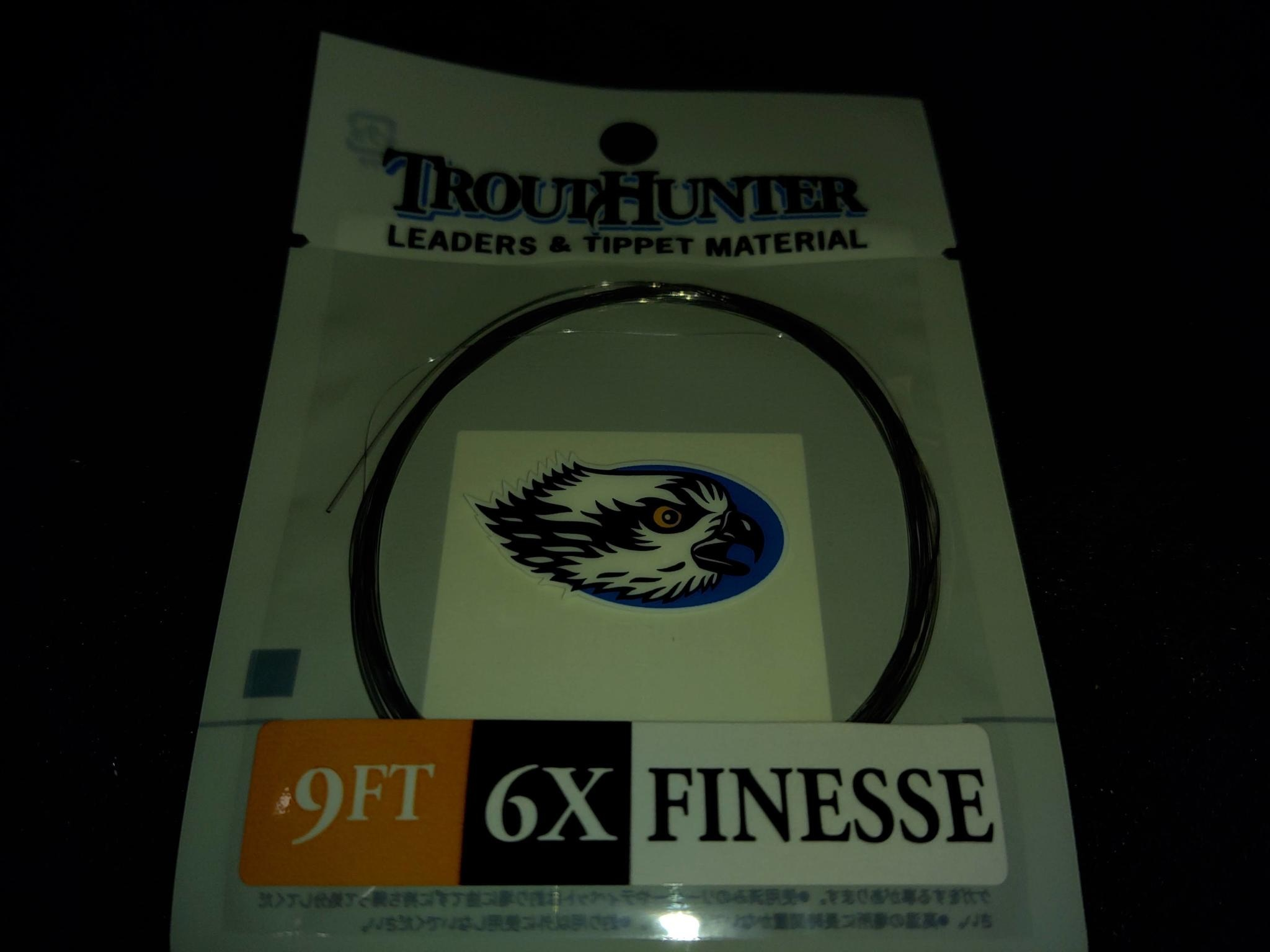 TROUTHUNTER TROUTHUNTER FINESSE  - 9'  6X LEADER