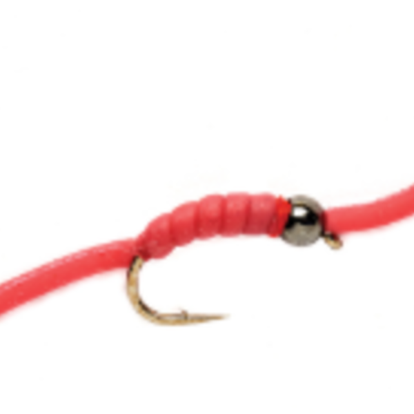 Fulling Mill WIGGLY WORM TUNG BEAD HEAD SIZE 10