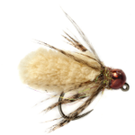 Fulling Mill Mop Fly Beige Barbless size 14
