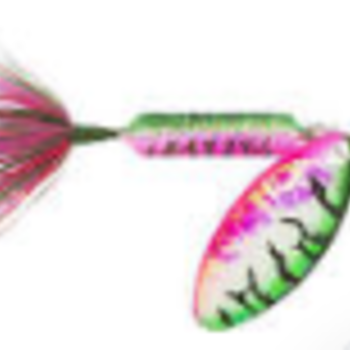 Wordens Wordens 208-Tinsel Rainbow Tiger Rooster Tail 1/8