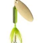 Wordens Wordens 210-MCLI Rooster Tail Metalic Chartreuse Lime 1/8