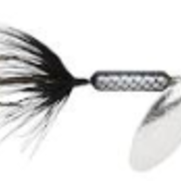 Wordens Wordens 210-BL Rooster Tail In-Line Black 1/6 oz