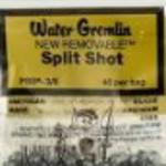 Water Gremlin Split shot