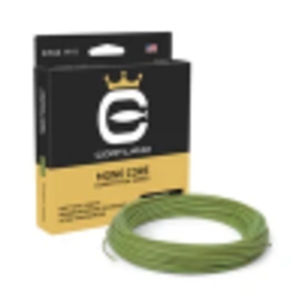 Cortland Competion Mono Core Double Taper .022 Gecko Green 90'