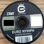 Cortland Euro Nymph Leader Camo Nylon  -  12 LB